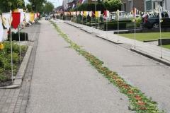 Margraten-006-Straat-versierd-met-processievaantjes
