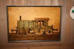 053-Spaanplaatschilderij-Locomotief