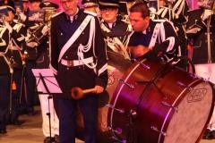 Taptoe-Lommel-2019-026-Trompetterkorps-der-Koninklijke-marechaussee-Nederland