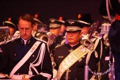 Taptoe-Lommel-2019-027-Trompetterkorps-der-Koninklijke-marechaussee-Nederland