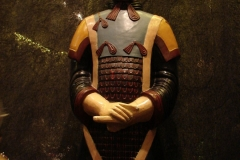Maaseik-Tentoonstelling-Terracotta-Leger-97-Krijger-in-de-Oorspronkelijke-Kleuren